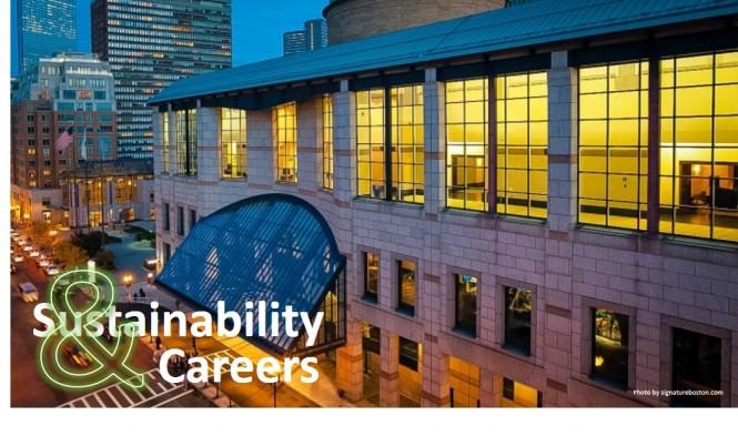 Sustainability & Careers Oct 3
